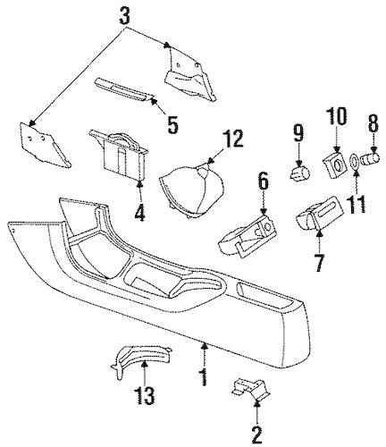 1999 Mercury Mystique Wiring Diagram