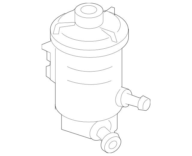 2013-2015 Honda CROSSTOUR 5-DOOR Tank, Power Steering Oil