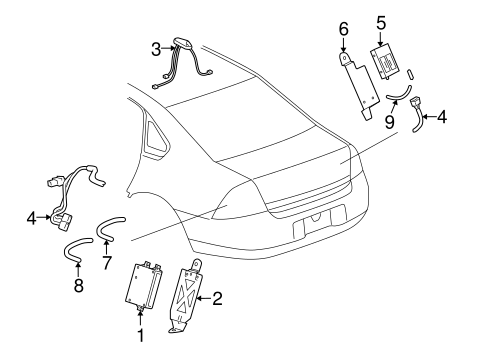 ELECTRICAL COMPONENTS for 2006 Chevrolet Monte Carlo (SS)
