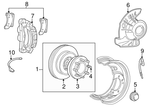 Anti-Lock Brakes for 1999 Ford F-250 Super Duty