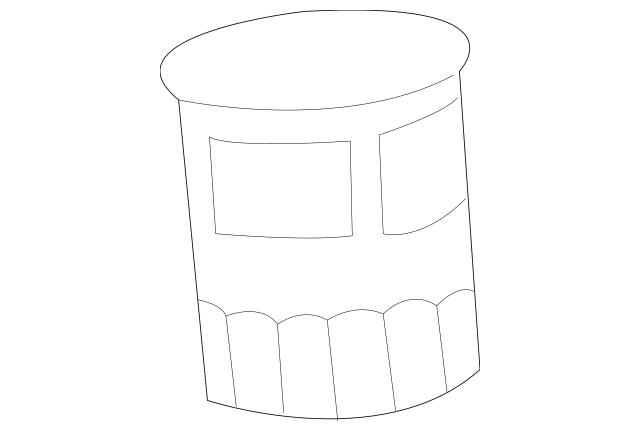 Original Filter, Oil (Filtech Toyo Roki) for 2002-2018