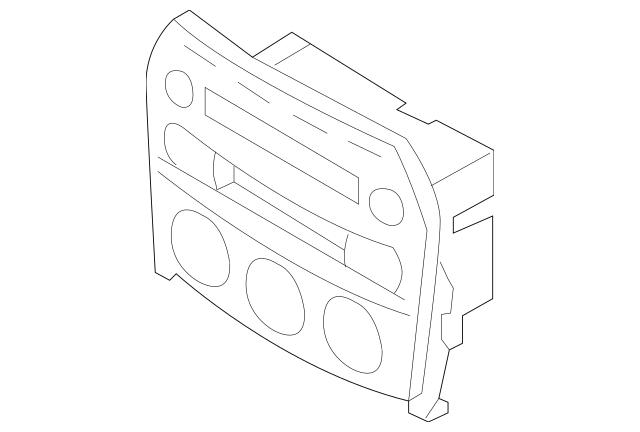 2009-2015 Mazda MX-5 Miata Cover Panel NH21-66-9H0