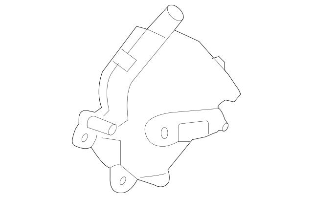 Genuine 2010-2015 Honda CROSSTOUR 5-DOOR Motor Assembly