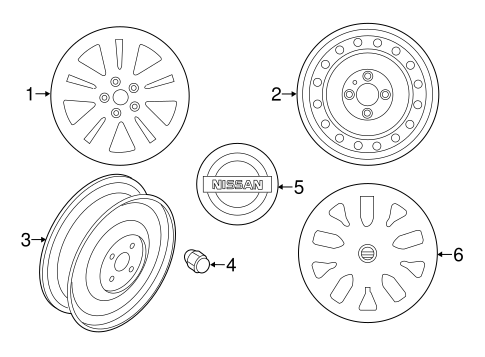 Wheels for 2015 Nissan Rogue