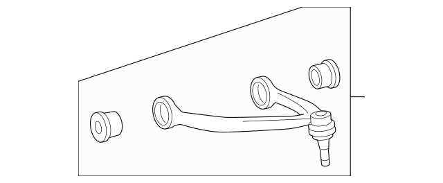 Upper Control Arm, RIGHT for 2007 Chevrolet Avalanche