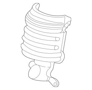 Honda Cover A, Rear Primary Converter (18122-RCA-A00) For