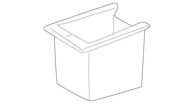 Mercedes-Benz Storage Box (163-683-13-75-9A96) For Sale