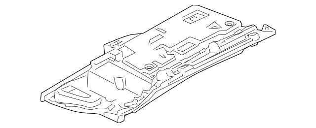 2007-2011 Audi Glove Box Assembly 4F1-857-104-B-12T