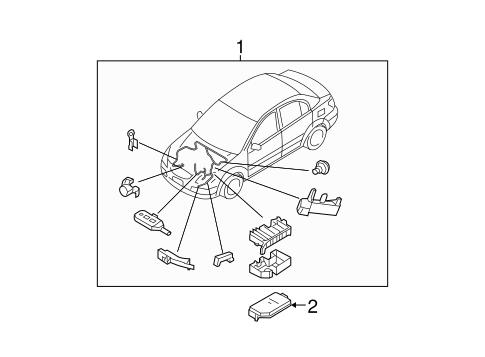 Hyundai Wiring Harness Parts