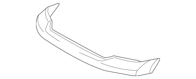 Genuine OEM Upper Cover Part# 52129-0C901 Fits 2007-2013
