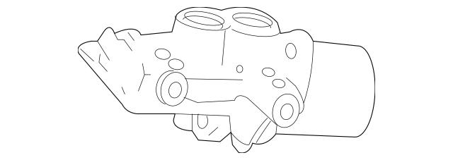 2007-2011 Mercedes-Benz Master Cylinder 006-430-17-01