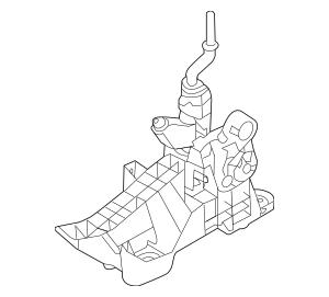 2010-2013 Mazda 3 Manual Transmission Shift Lever BBM2-46