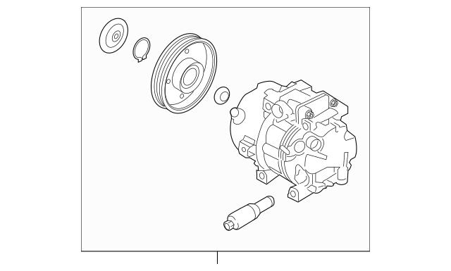 2015-2018 Kia Sorento Compressor Assembly 97701-C6500RU