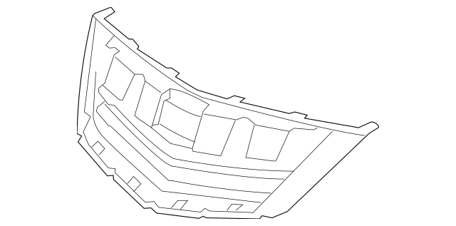 2011-2012 Acura RL SEDAN Base, Front Grille *NH791M