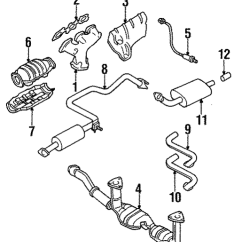 1999 Nissan Maxima Exhaust System Diagram Wiring For Whirlpool Electric Water Heater Manifold Conicelli Parts 1