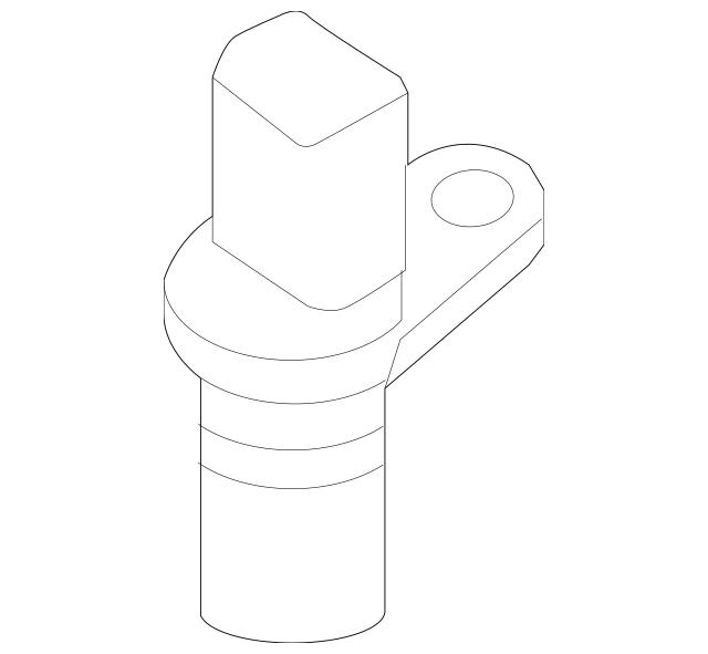 2008-2018 Audi Crankshaft Position Sensor 06H-906-433