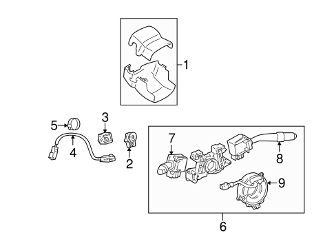 Automatic Transmission Components for 2003 Lexus IS300