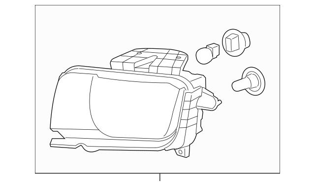 2010-2013 Chevrolet Camaro Composite Headlamp 22959917