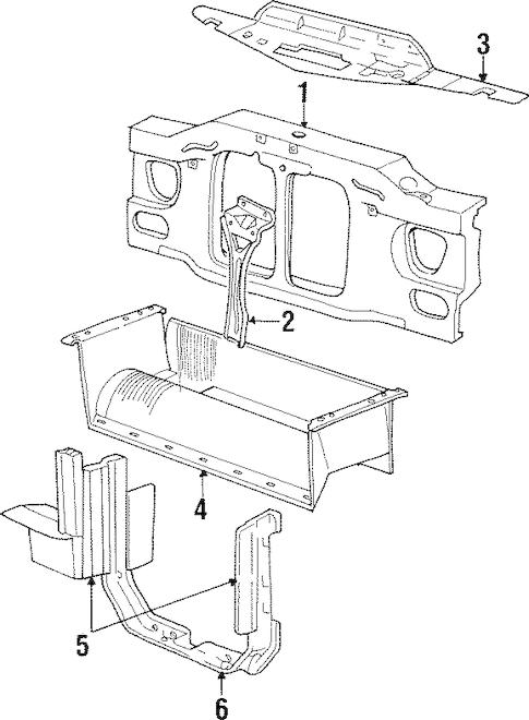 2000 Mercury Mountaineer Fuel Filter