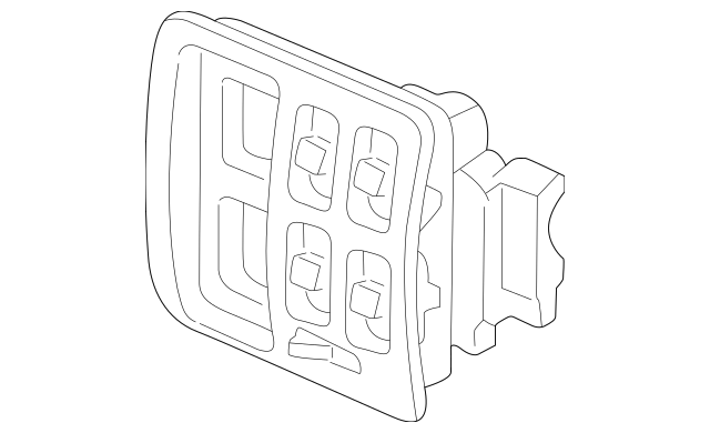 1999-2001 Honda CR-V 5-DOOR Switch Assembly, Power Window