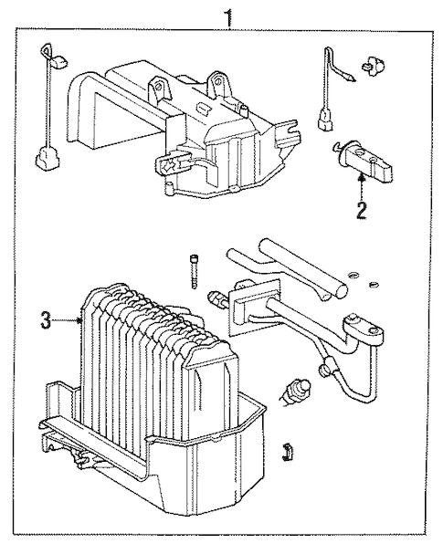 CONDENSER, COMPRESSOR & LINES for 1992 Toyota MR2