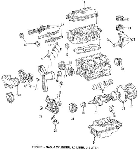 2000 Toyota Tundra 4 7 Engine Diagram
