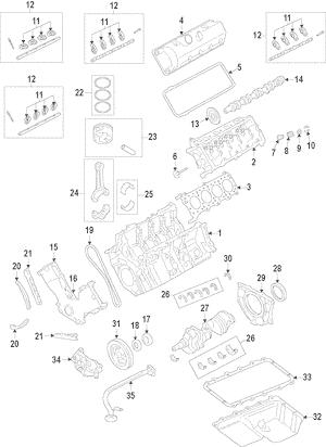 2011-2018 Ford Ford F150 F250 Super Duty 6.2L Engine