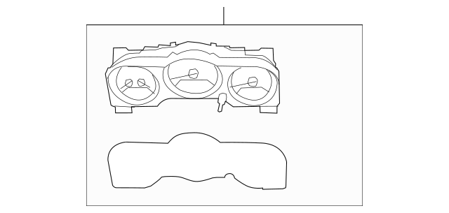 2007 Dodge Nitro Instrument Cluster 56044815AI Mopar