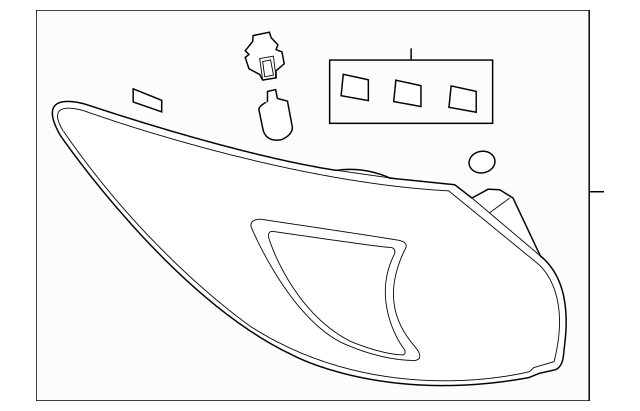 2013-2016 Mazda CX-5 Tail Lamp Assembly KD53-51-3G0E