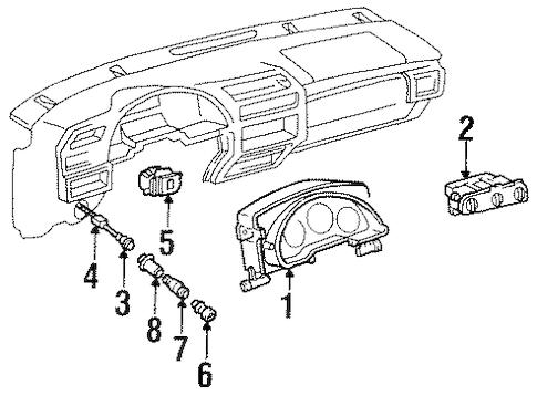 TRUNK for 1996 Chevrolet Lumina