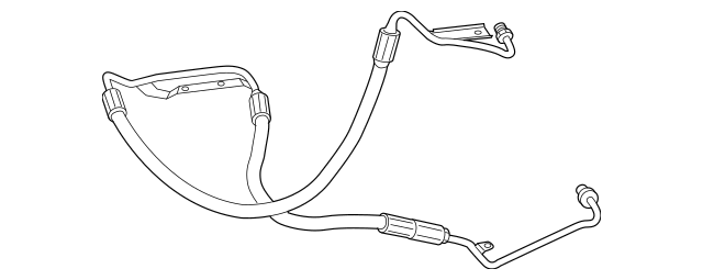 2009-2012 Mercedes-Benz SL 63 AMG® Pressure Hose 230-466