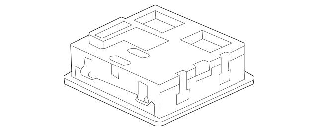 2011-2012 Honda CR-Z HATCHBACK Module Assembly, Ambient