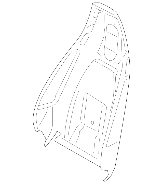 2017-2018 Porsche Seat Back 991-521-986-01-OH7