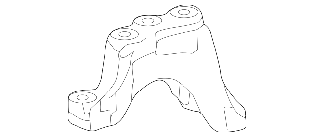 Honda Bracket, Transmission Mounting-Base (Upper) (50675