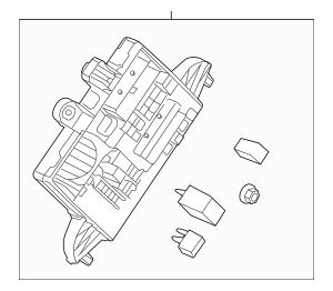 Genuine OEM 2011-2012 Buick LaCrosse Fuse & Relay Box