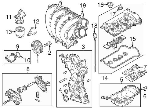 Genuine OEM Engine Parts Parts For 2013 Mazda 3 Mazdaspeed
