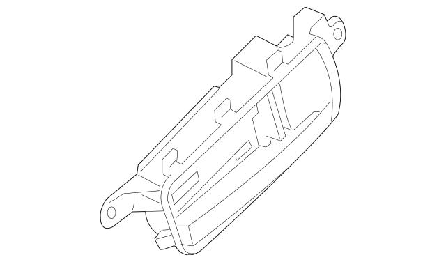 2007-2012 Nissan Sentra Handle, Inside 80671-ET001