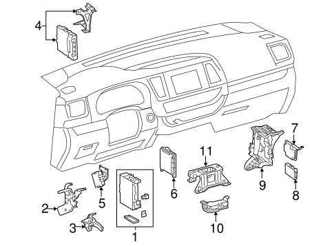 Electrical Components for 2014 Toyota Highlander