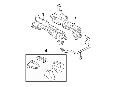 TRACKS & COMPONENTS for 2003 Mercury Sable