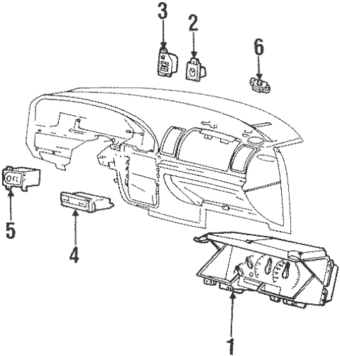 Headlamp Components for 2002 Lincoln Continental
