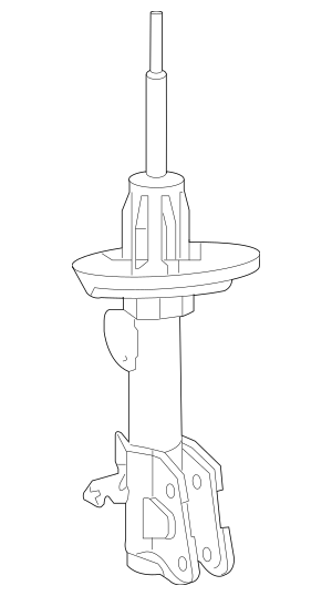 Genuine Damper Unit, R Front for Acura Part# 51605-STX-365