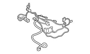 Volkswagen Control Module Harness (5NN-971-391-D