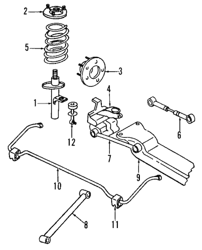 Service manual [1995 Chrysler Concorde Rear Differential