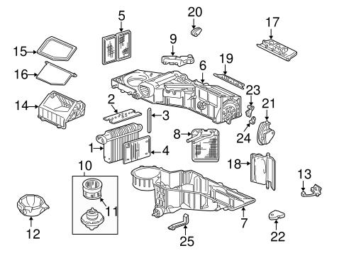 Condenser, Compressor & Lines for 2000 Chevrolet Silverado