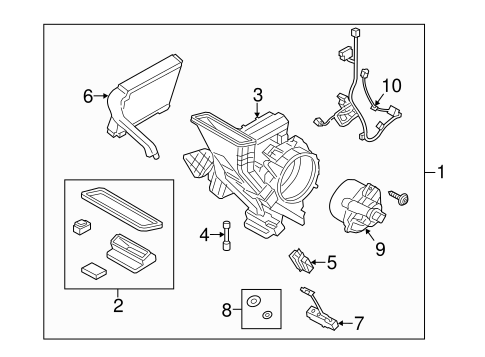 AUXILIARY HEATER & AC for 2015 Ford Transit-150