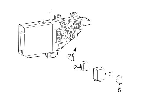 Electrical Components for 2005 Chrysler Sebring Parts