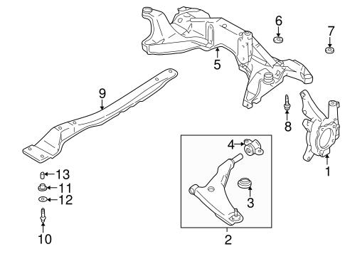 Suspension Components for 2001 Mitsubishi Galant GTZ