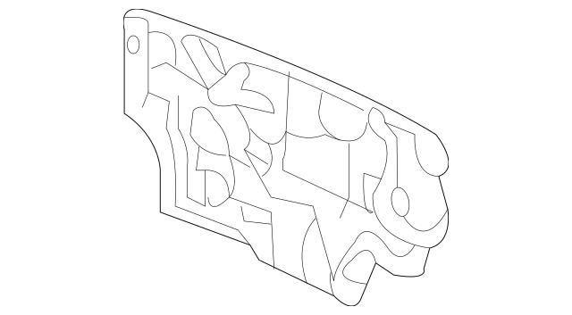 2008-2010 Honda CR-V 5-DOOR Insulator, Dashboard (Outer