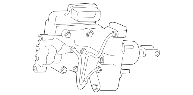 Genuine OEM Brake Booster Part# 47050-75030 Fits 2010-2011