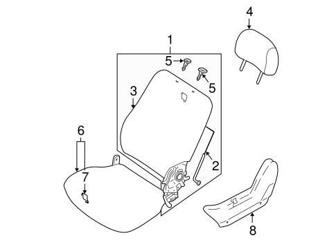 Air Bag Components for 2002 Mitsubishi Montero